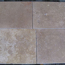 Travertin Colloseum Stone 60x60x1,5 Creme Verzoet